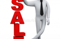 d-businessman-sale-word-presentation-illustration-business-man-presenting-concept-rendering-human-people-character-31885928
